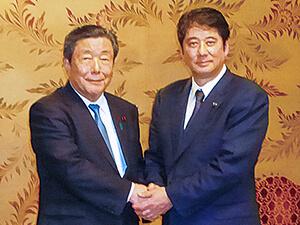 鶴田志郎を応援しています:森山裕国対委員長