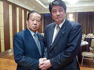 鶴田志郎を応援しています:二階俊博幹事長
