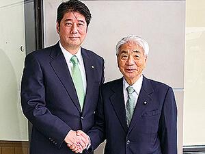 鶴田志郎を応援しています:尾辻 秀久参議院議員